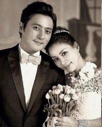 张东健老婆是谁 张东健高小英婚礼现场