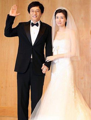 刘在石的妻子老婆名叫罗静恩