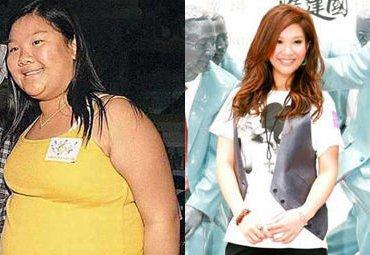 郑欣宜减肥前后图片分享 郑欣宜