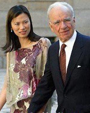 默多克妻子邓文迪个人资料以及照片