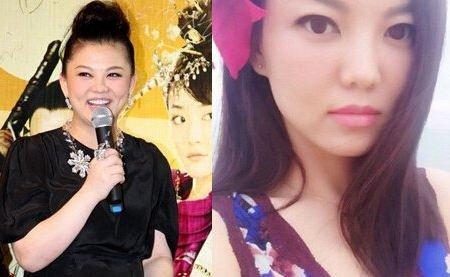 李湘减肥前后对比图片