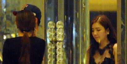 此前在跑男中郑凯和杨颖两个人组成了周一情侣