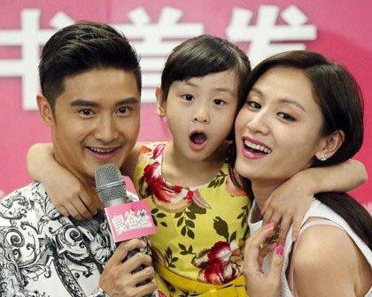 田亮与老婆叶一茜有几个孩子 田亮与孩子的合照