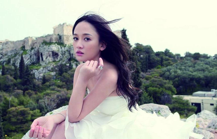 陈乔恩希腊拍写真遇险 新娘装期待出嫁却苦无对象(2)