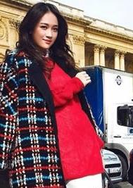陈乔恩冬季时尚街拍 东方教主化身妩媚小女人
